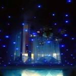 Потолок - небо со звёздами в спальне